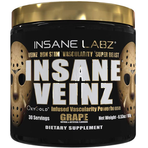 Insane Veinz Gold - Grape - 30 Servings