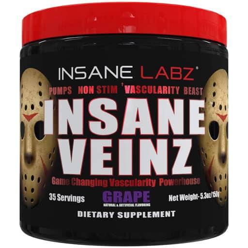 Insane Veinz - Grape - 35 Servings