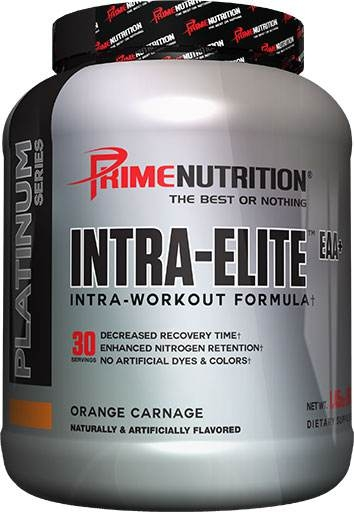 Intra Elite EAA By Prime Nutrition, Orange Carnage, 30 Servings
