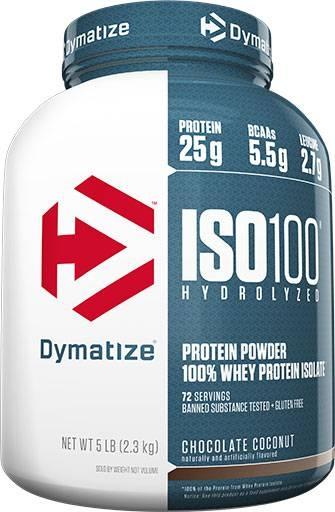 Dymatize ISO 100, Chocolate Coconut, 5lb