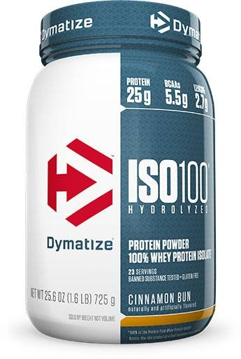 Dymatize Iso 100, Cinnamon Bun 1.6lb