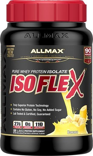Isoflex By Allmax Nutrition, Banana Cream Supreme, 2lb