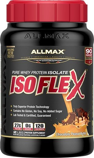 Isoflex By Allmax Nutrition, Peanut Butter Chocolate 2lb