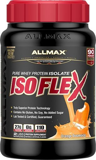 Isoflex By Allmax Nutrition, Arctic Orange MilkShake, 2lb