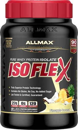 Isoflex By Allmax Nutrition, Pineapple Coconut, 2lb