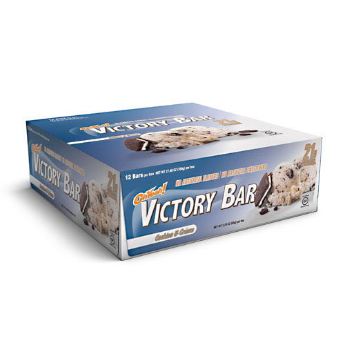 Oh Yeah! Victory Bars, By Oh Yeah! Nutrition, Cookies and Creme, 12/Box
