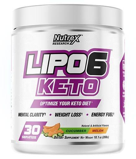 Lipo 6 Keto - Cucumber Melon - 30 Servings