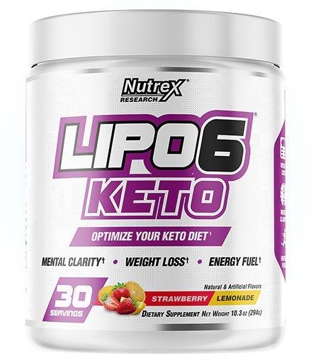 Lipo 6 Keto - Strawberry Lemonade - 30 Servings