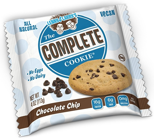 The Complete Cookie, By Lenny and Larry's, Chocolate Chip, SINGLE COOKIE