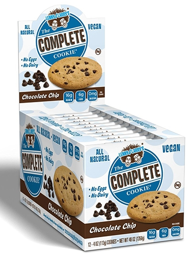 The Complete Cookie, By Lenny and Larry's, Chocolate Chip, 12/Box