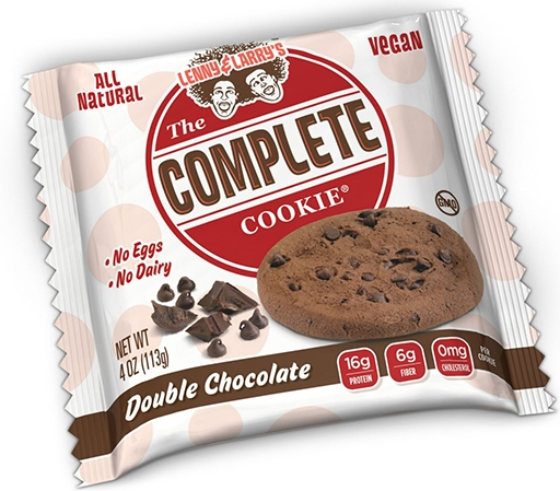 The Complete Cookie, By Lenny and Larry's, Double Chocolate, SINGLE COOKIE