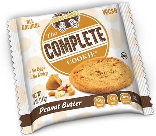 The Complete Cookie, By Lenny and Larry's, Peanut Butter, Single Cookie