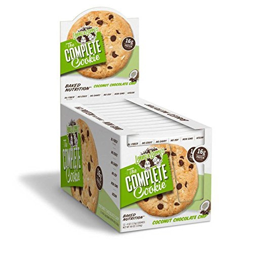 The Complete Cookie, By Lenny and Larry's, Coconut Chocolate Chip, 12/Box