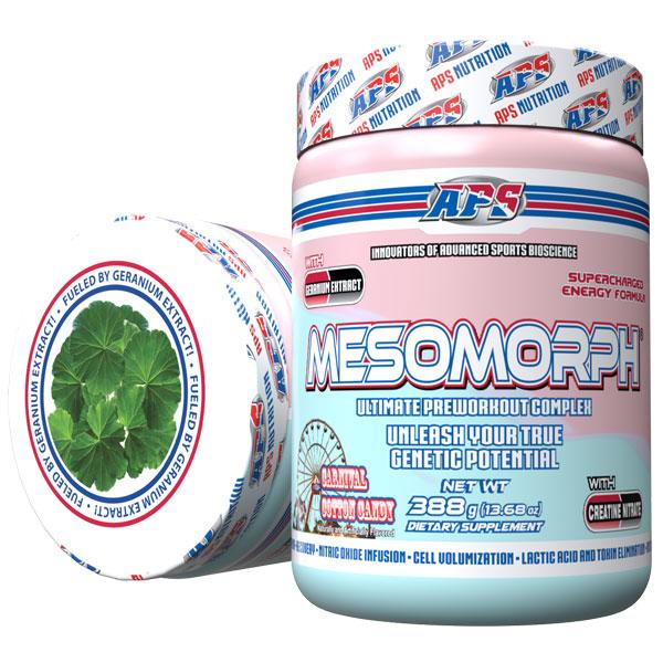 Mesomorph w/DMHA - Carnival Cotton Candy - 25 Servings