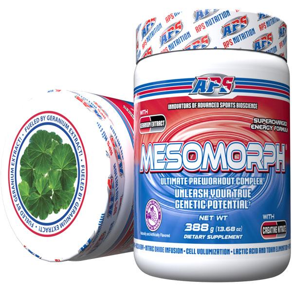 Mesomorph w/DMHA - Grape - 25 Servings