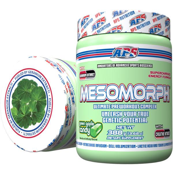 Mesomorph w/DMHA - Green Candy Apple - 25 Servings