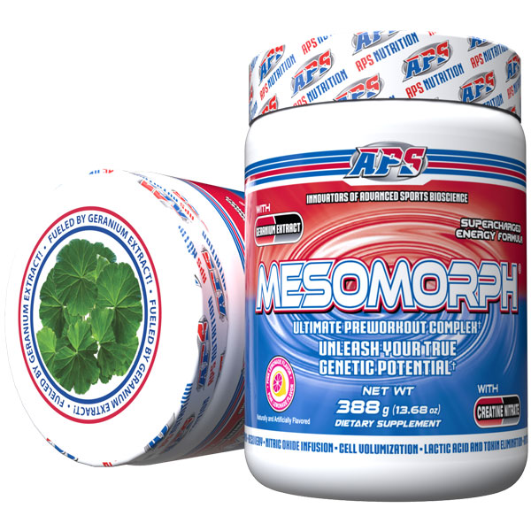 Mesomorph w/DMHA - Pink Lemonade - 25 Servings