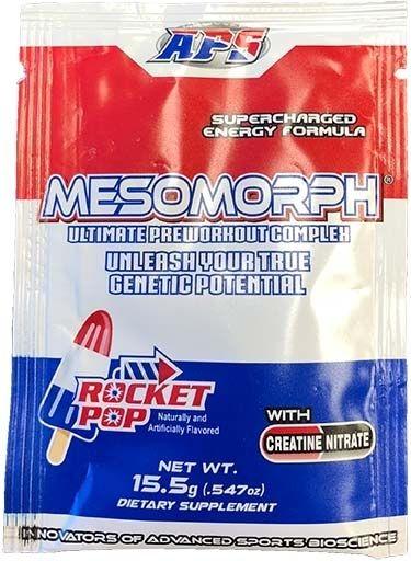 Mesomorph Rocket Pop Sample Packet