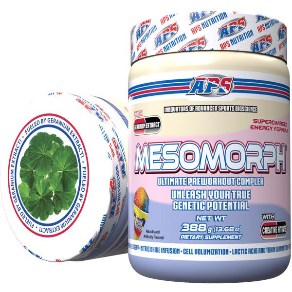 Mesomorph w/DMHA - Snowcone - 25 Servings