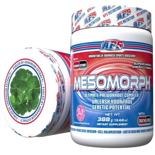 Mesomorph w/DMHA - Tropical Punch - 25 Servings