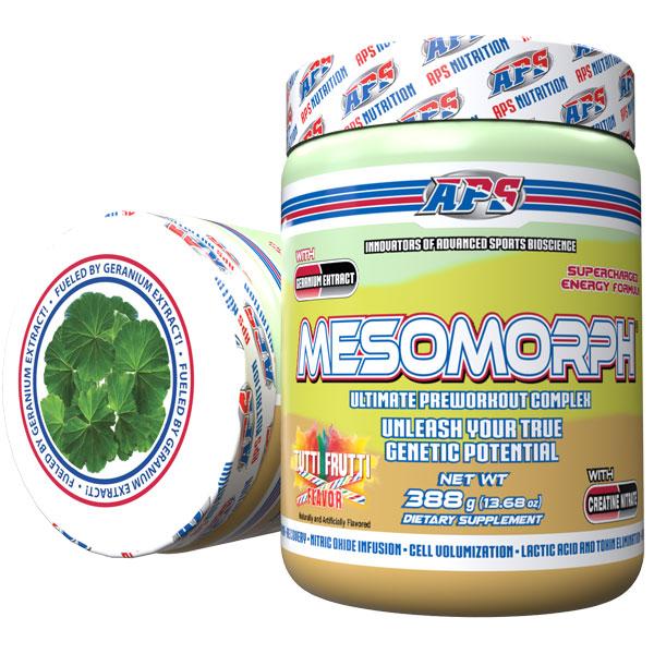Mesomorph w/DMHA - Tutti Frutti - 25 Servings