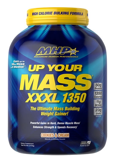 Up Your Mass XXXL 1350 By MHP, Cookies and Cream 6lb