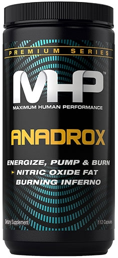 Anadrox Pump and Burn By MHP, Fat Burner 112 Caps