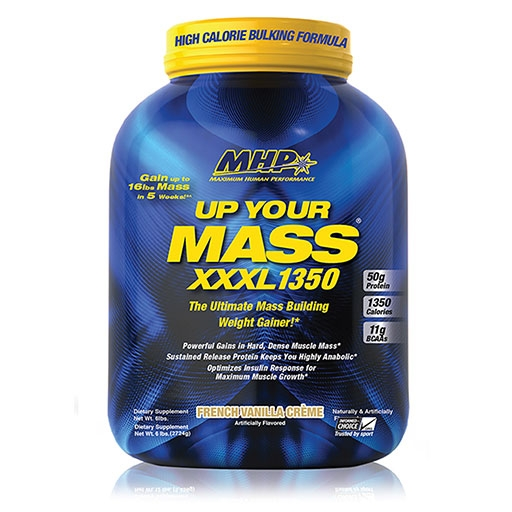 Up Your Mass XXXL 1350 By MHP, Vanilla 6lb