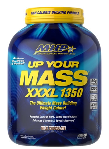 Up Your Mass XXXL 1350 By MHP, Chocolate, 6lb
