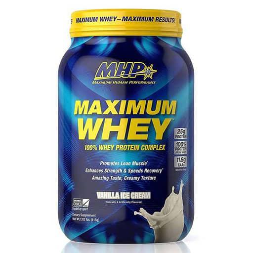 Maximum Whey - Vanilla Milkshake - 2lb