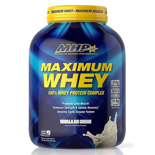 Maximum Whey - Vanilla Milkshake - 5lb