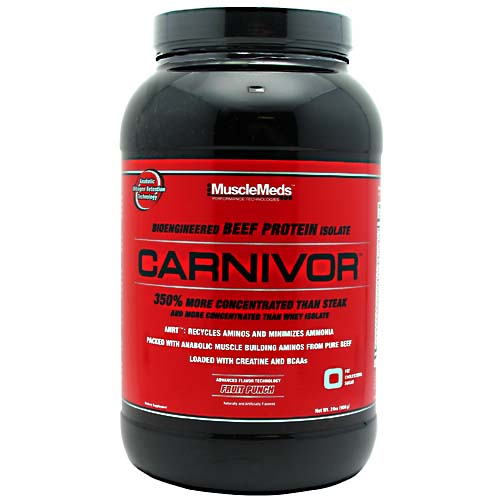Carnivor Beef Protein By MuscleMeds, Fruit Punch 2 lb