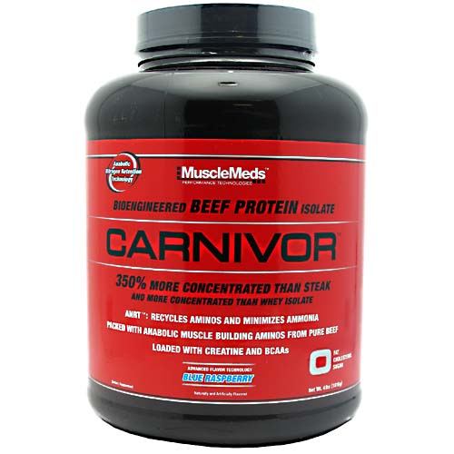 Carnivor Beef Protein By MuscleMeds, Fruit Punch 4 lb