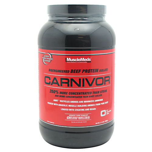 Carnivor Beef Protein By MuscleMeds, Cherry Vanilla 2lbs