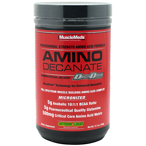 Amino Decanate By MuscleMeds, Citrus Lime 30 Servings