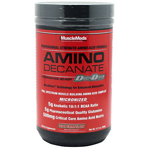 Amino Decanate By MuscleMeds, Watermelon 30 Servings