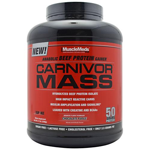 Carnivor Mass By MuscleMeds, Chocolate Fudge 5.7lb