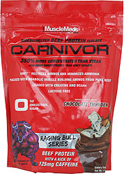 Carnivor Raging Bull By MuscleMeds, Chocolate Thunder 1lb