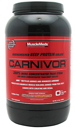 Carnivor Beef Protein By MuscleMeds, Chocolate Peanut Butter 2.3lb