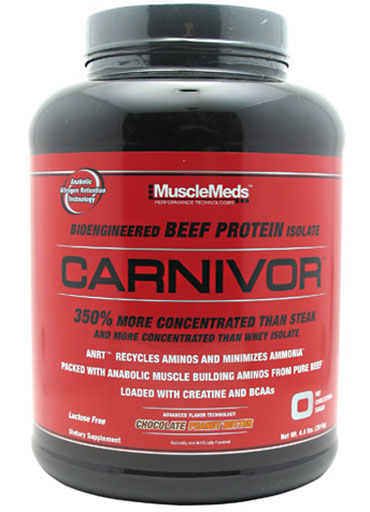 Carnivor Beef Protein By MuscleMeds, Chocolate Peanut Butter 4.4lb