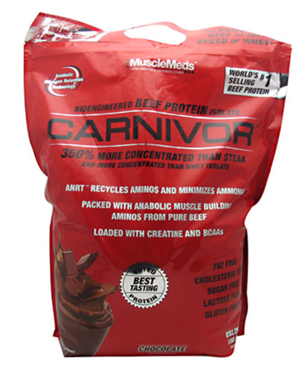Carnivor Beef Protein By MuscleMeds, Chocolate 8lb