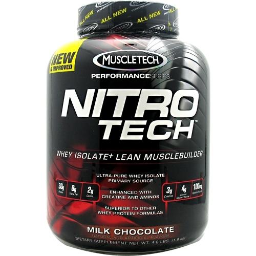 Nitro-Tech Performance Series By Muscletech, Milk Chocolate, 4 lbs