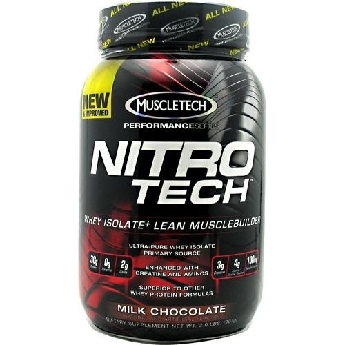 Nitro-Tech Performance Series By Muscletech, Milk Chocolate, 2 lbs