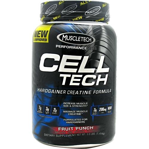 Cell-Tech By MuscleTech, Fruit Punch 3lb