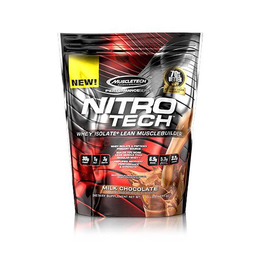 Nitro-Tech, Performance Series, By MuscleTech, Milk Chocolate, 1lb,