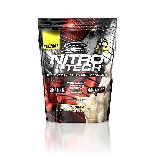 Nitro-Tech, Performance Series, By MuscleTech, Vanilla, 1lb