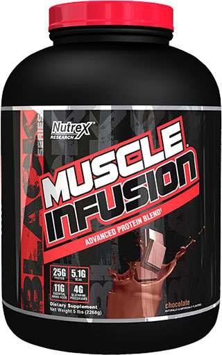 Muscle Infusion By Nutrex, Chocolate, 5LB