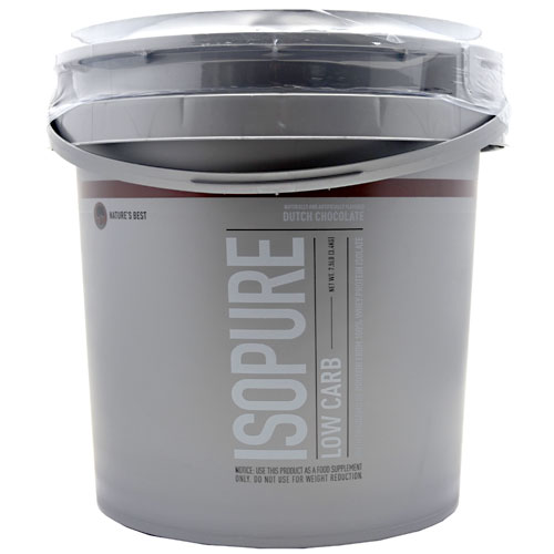 Isopure Low Carb By Nature's Best, Dutch Chocolate 7.5lb