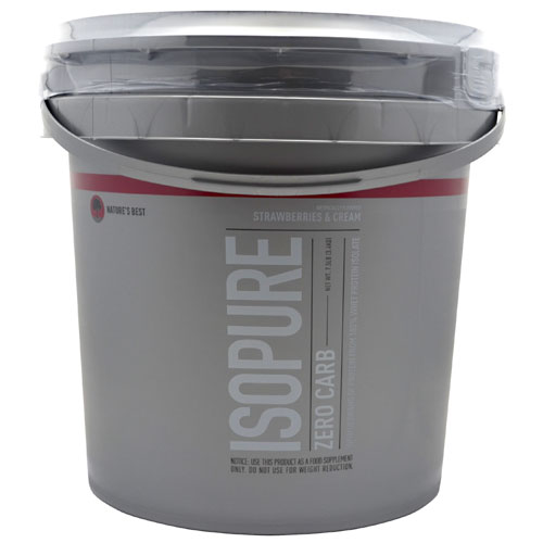 Isopure Zero Carb By Nature's Best, Strawberries and Cream 7.5lb