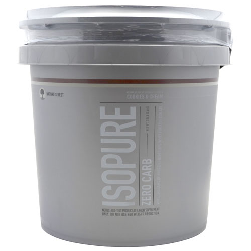Isopure Zero Carb By Nature's Best, Cookies and Cream 7.5lb